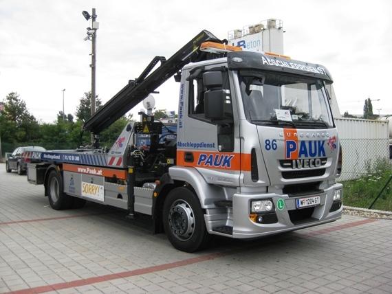 Abschleppauto Pannendienst Wien Pauk - Ford Transit