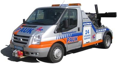 Abschleppdienst Autotransporte Wien Wien Pauk - Isuzu Garageneinsatzfahrzeug