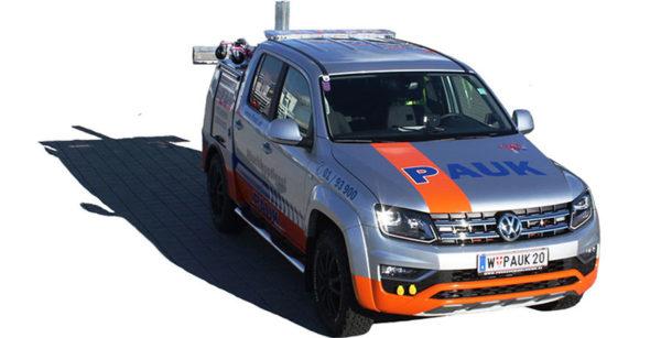 Pauk Abschleppdienst for Vienna - VW Amarok Motorrad Transporter