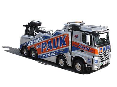 Abschleppdienst Wien PAUK lkw-transporte Bergungen 1220