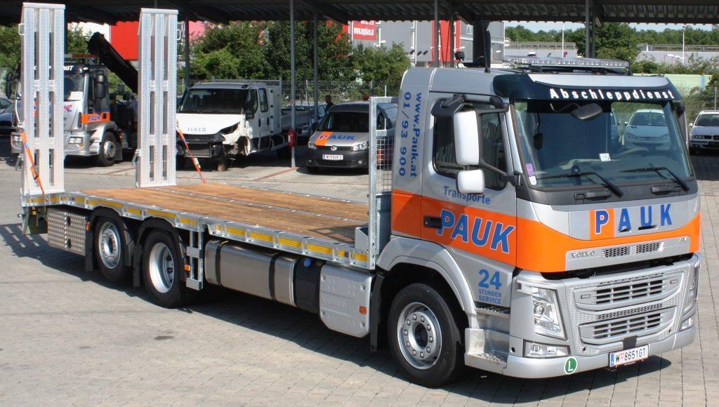 Abschleppdienst Wien baumaschinentransporte_PAUK_Volvo_2019_06