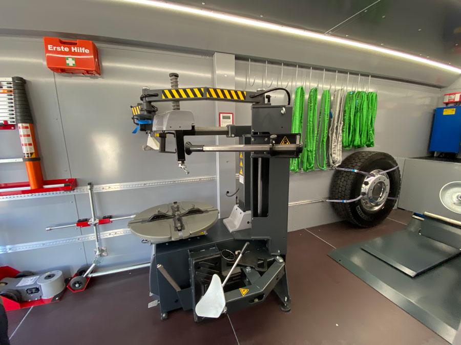 Abschleppdienst Wien PAUK - Mobiler Reifenservice